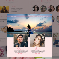 Shining Wedding - dating website template