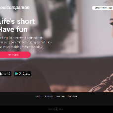 Life`s short. Have fun - dating website template