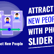 Photo slider – Eye-catching block on the main page