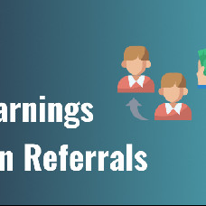 Referral system – Earn yourself and reward active members