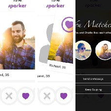 Tinder clone with setup, design, and backend