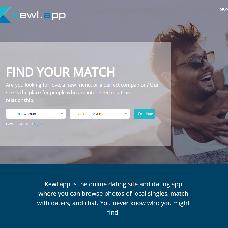 Kewl.app website - meet your perfect match
