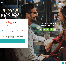 Tomato and Sea Green dating website