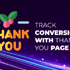 Thank You page - Promote other services and track sales with Thank you page