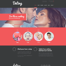 Lifelong Romance Agency - Dating Website Template