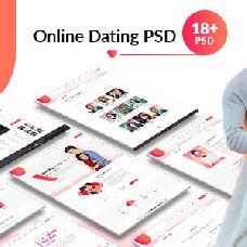 Fervor - dating website template