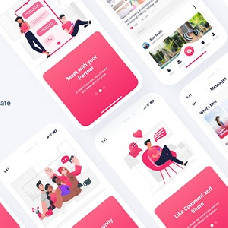 Poxy - dating app template