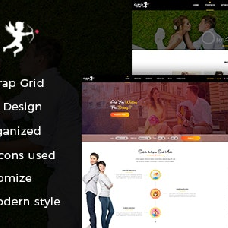 CUPID LOVE - dating website template