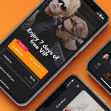 Manhunt - dating app template