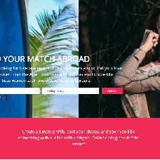 FlirtAbroad website