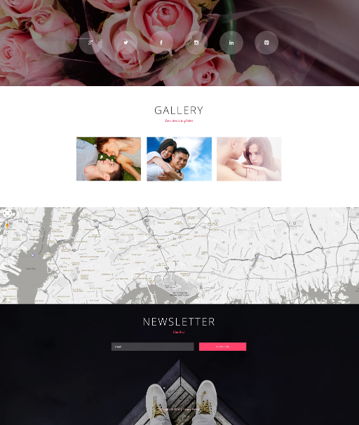 Only Love - dating website template