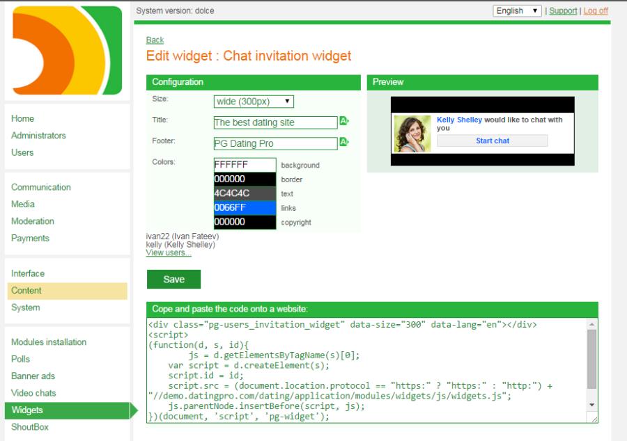 écrire un excellent exemple de profil de datation