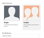 Couple Profile - Users of different relationship configurations are welcome
