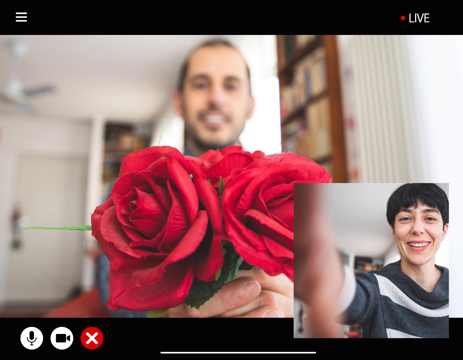 Prototype: Zoom app but for dating — everyone's heard about Zoom now, but what if we turn it into dating app