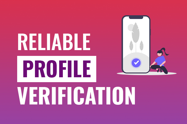 Users profile verification – Ask them to mimic a head gesture