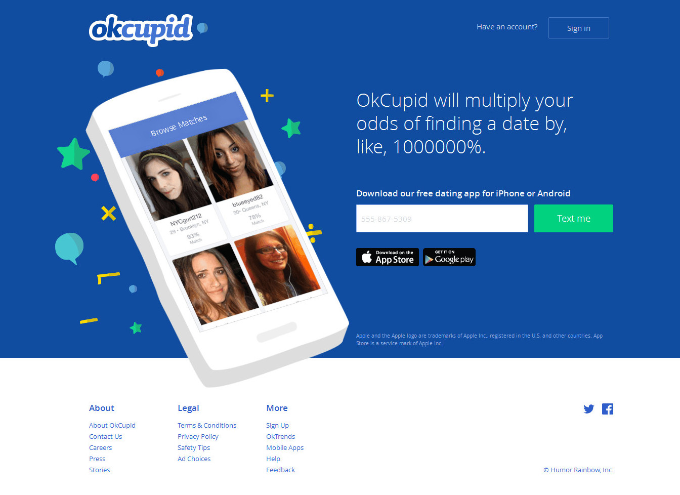okcupid/home mobile