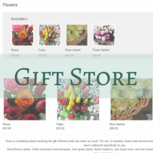 Gift store - Sell all types of merchandise from your site
