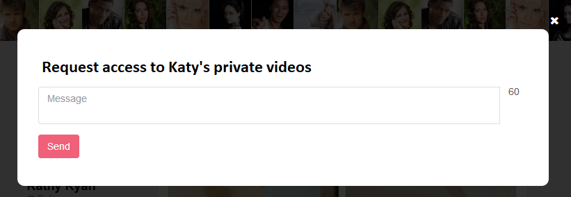 Private videos - Allow select people to watch private videos