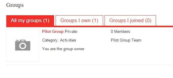 Groups - Join groups, share and discuss ideas