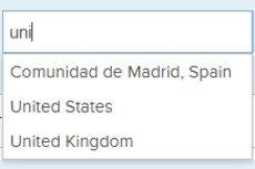 Countries plugin - Pick how your users will indicate location