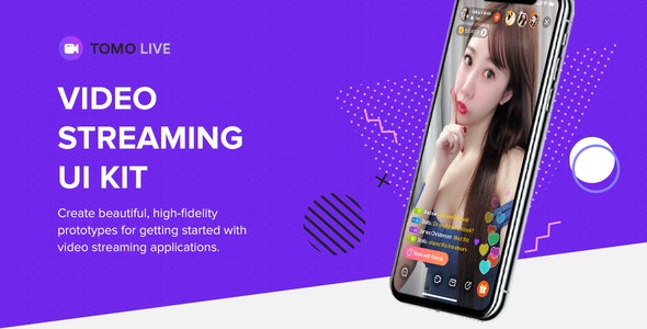 TOMO Video Streaming - dating app template