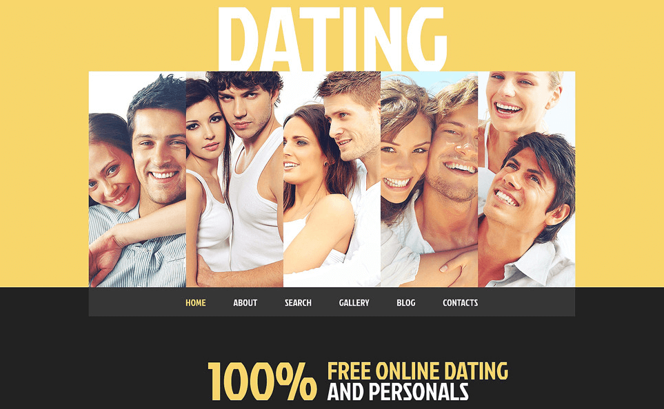 dating website template wordpress responsive theme